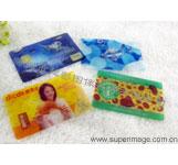 3D会员卡 3D芯片卡 3D折扣卡印刷 精美优惠卡生产 3D来宾卡加工制作