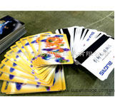 3D芯片卡定制 3D贵宾卡 接触式3D卡
