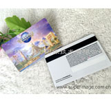 立体动感3D卡制作 3D磁条卡 条码卡