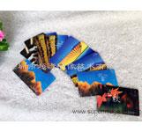 深圳3D卡厂家 3D纪念卡 精美立体卡 3D智能卡定制 3D卡印刷厂家